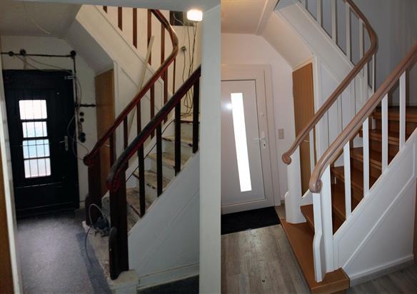 das volle programm bitte renovierung eines einfamilienhauses lies renovierung t ren. Black Bedroom Furniture Sets. Home Design Ideas